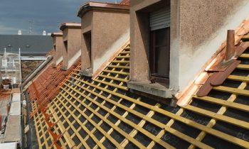 Réfection complète d'une toiture